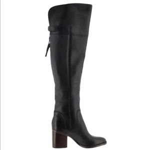 Franco Sarto Ollie Medium Calf Leather Boots